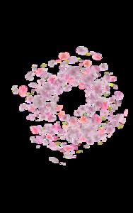 Falling Rose Petals PNG Transparent Picture PNG Clip art
