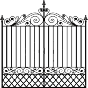 Fancy Gate PNG Photos PNG Clip art