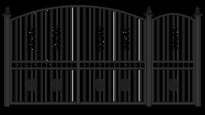 Fancy Gate PNG Transparent Image PNG Clip art