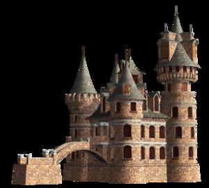 Fantasy Castle PNG Clipart PNG Clip art