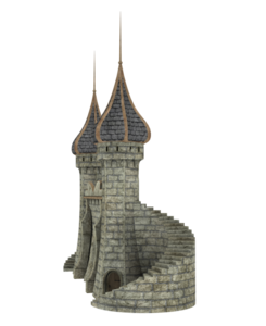 Fantasy Castle PNG Image PNG icon