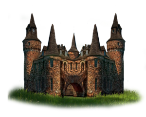 Fantasy Castle PNG Photo PNG Clip art