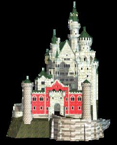 Fantasy Castle PNG Transparent Image PNG clipart