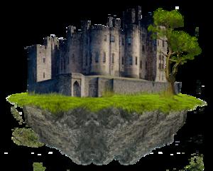 Fantasy Castle Transparent PNG PNG Clip art
