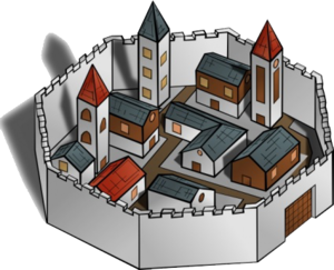Fantasy City PNG File PNG Clip art