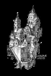 Fantasy City PNG Image PNG Clip art