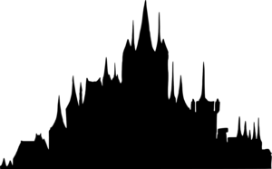 Fantasy City Transparent Background PNG Clip art