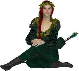 Fantasy Girl PNG HD PNG Clip art