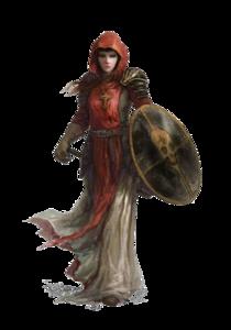 Fantasy Women Warrior PNG File PNG Clip art