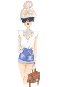 Fashion Girl PNG File PNG Clip art