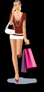 Fashion Girl PNG Clip art