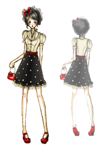 Fashion Model PNG File PNG Clip art