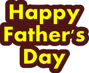 Fathers Day PNG HD PNG Clip art