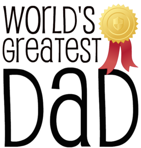 Fathers Day Transparent Background PNG Clip art