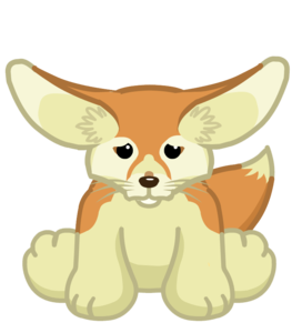 Fennec Fox Transparent Background PNG Clip art