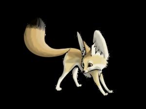 Fennec Fox Transparent PNG PNG Clip art