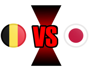 FIFA World Cup 2018 Belgium VS Japan PNG File PNG icons