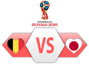 FIFA World Cup 2018 Belgium VS Japan PNG Image PNG icons