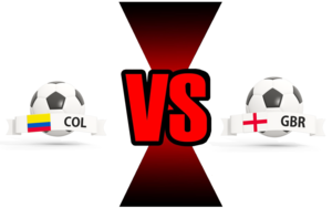 FIFA World Cup 2018 Colombia VS England PNG Image PNG Clip art