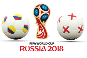 FIFA World Cup 2018 Colombia VS England PNG Photos PNG icons