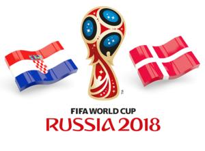 FIFA World Cup 2018 Croatia Vs Denmark PNG Photos PNG Clip art