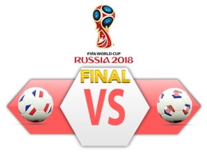 FIFA World Cup 2018 Final Match France VS Croatia PNG Clipart PNG Clip art