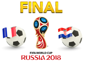 FIFA World Cup 2018 Final Match France VS Croatia PNG Photos PNG Clip art