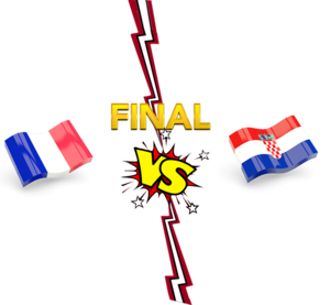 FIFA World Cup 2018 Final Match France VS Croatia PNG Transparent Image PNG Clip art