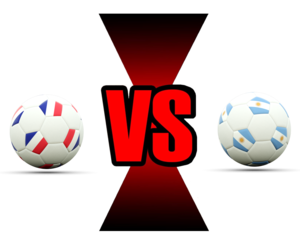 FIFA World Cup 2018 France Vs Argentina PNG File PNG Clip art