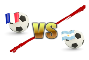 FIFA World Cup 2018 France Vs Argentina PNG Image PNG Clip art