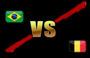 FIFA World Cup 2018 Quarter-Finals Brazil VS Belgium PNG File PNG Clip art