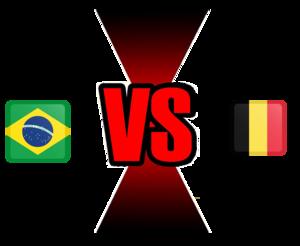 FIFA World Cup 2018 Quarter-Finals Brazil VS Belgium PNG Image PNG Clip art