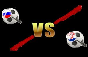 FIFA World Cup 2018 Quarter-Finals Russia VS Croatia PNG File PNG Clip art