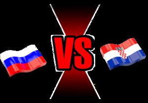 FIFA World Cup 2018 Quarter-Finals Russia VS Croatia PNG Image PNG Clip art