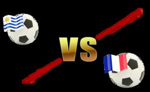 FIFA World Cup 2018 Quarter-Finals Uruguay VS France PNG File PNG Clip art