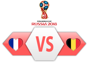 FIFA World Cup 2018 Semi-Finals France VS Belgium PNG Clipart PNG Clip art