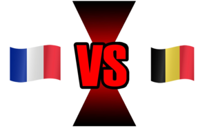 FIFA World Cup 2018 Semi-Finals France VS Belgium PNG Image PNG Clip art