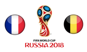 FIFA World Cup 2018 Semi-Finals France VS Belgium PNG Photos PNG Clip art