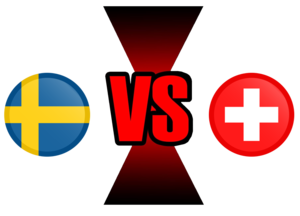 FIFA World Cup 2018 Sweden VS Switzerland PNG File PNG icons