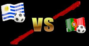 FIFA World Cup 2018 Uruguay Vs Portugal PNG File PNG Clip art