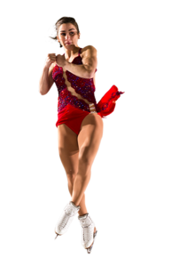 Figure Skating Transparent Background PNG icons