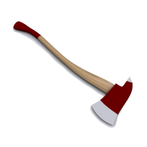 Firefighter Axe PNG Pic PNG Clip art