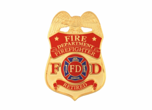 Firefighter Badge PNG File PNG Clip art