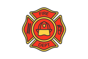 Firefighter Badge PNG Picture PNG Clip art