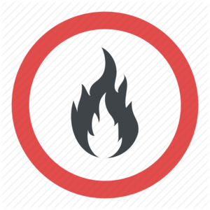 Flammable Sign PNG File PNG Clip art