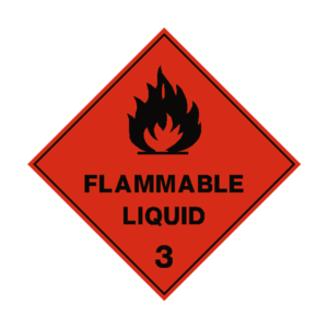 Flammable Sign Transparent Background PNG Clip art