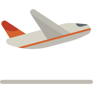 Flight Transparent Background PNG icon