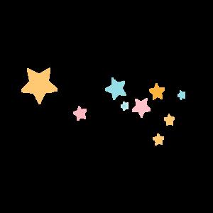 Floating Stars Transparent Background PNG Clip art