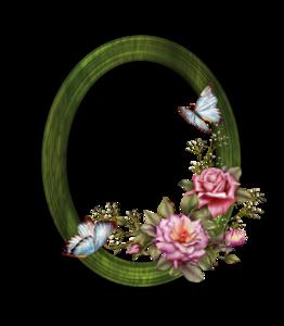 Floral Round Frame PNG Transparent PNG Clip art