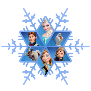 Frozen Snowflake PNG Free Download PNG Clip art